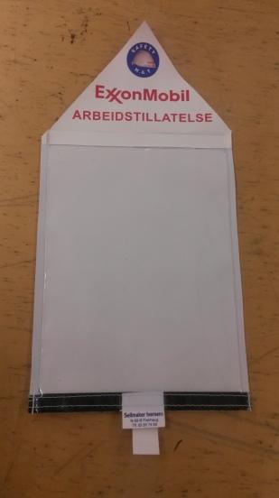 Work permit folder
