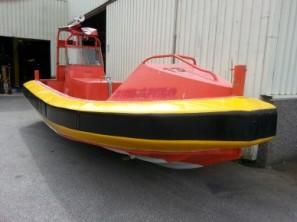 Fendertrekk til MOB-båt