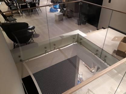 Sikkerhetsnett innendørs